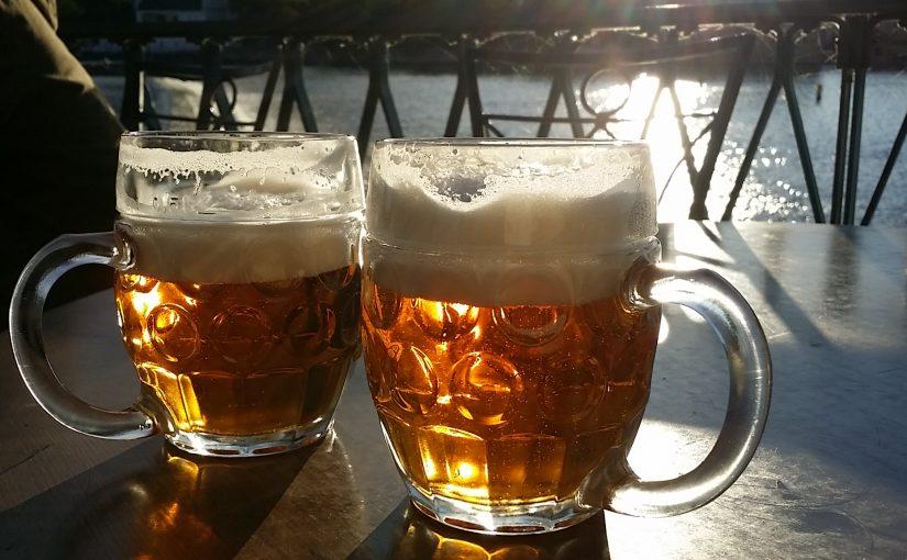 Ausflug zur Hubertus Brauerei