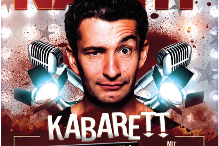 """28. Juli Kabarett in Kammersdorf mit Omar Sarsam und """"Herzalarm"""""""